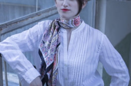 In my second post for The Scarf Project, I am showing you how to style a silk scarf as well as sharing a simple tip of what works best with silk scarfs! Read more on www.dilekaspires.com