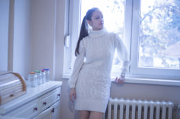 Believe it or not, I've had this white knitted dress for almost 8 years. Read more about it on www.dilekaspires.com
