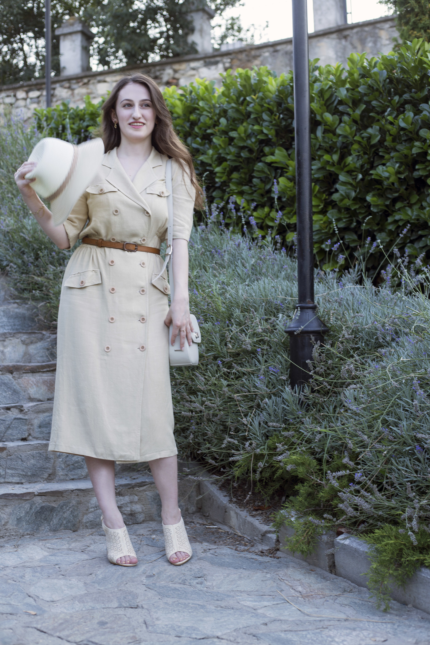 """Sharing with you how I reinvented this old button up dress as well as what is my no.1 outfit ingredient when I """"have nothing to wear"""". Read more at www.dilekaspires.com"""