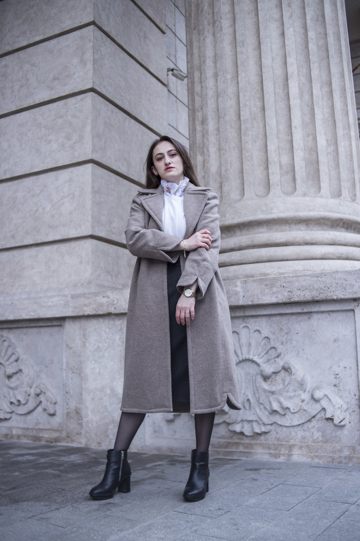 When designing clothes, I often get inspired by fabrics themselves, but this time around, the design inspiration for this coat came from another place. Read more to find out and to see the coat up close!
